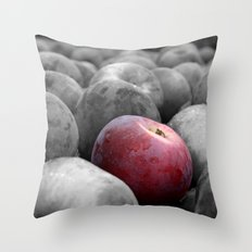 The Red Apple Throw Pillow