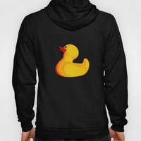 pop art duck Hoody