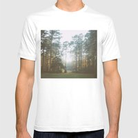 Treeline Mens Fitted Tee White SMALL