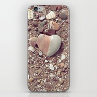 Heart on the Beach iPhone & iPod Skin