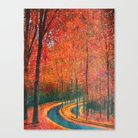 Beautiful Colors Of Autu… Canvas Print