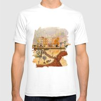 Brooklyn Mens Fitted Tee White SMALL