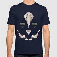 Naga Mens Fitted Tee Navy SMALL