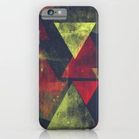 weathered triangles iPhone 6 Slim Case