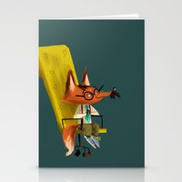 Fox Boss Stationery Cards