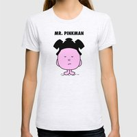 Pinkman Womens Fitted Tee Ash Grey SMALL