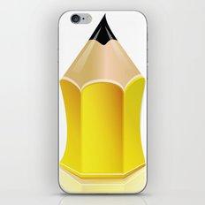 Stylized Pencil Artwork (Vector) iPhone & iPod Skin