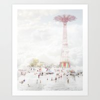 Coney Island 2014 Art Print