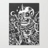 Skullhunter Overlord Canvas Print