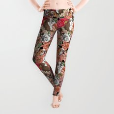 Because English Bulldog Leggings