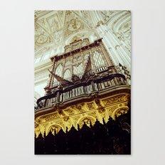Mosque-Cathedral organ in Córdoba, Spain Canvas Print