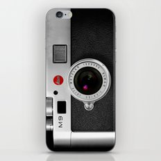 classic retro Black silver Leather vintage camera iPhone 4 4s 5 5c, ipod, ipad case iPhone & iPod Skin