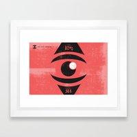 Spit & Mud (by Katie Cam… Framed Art Print