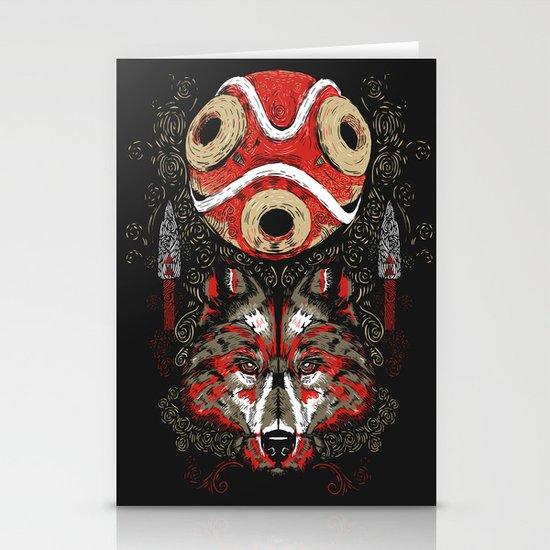 Mononoke Totem Stationery Card