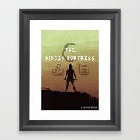 The Hidden Fortress Framed Art Print