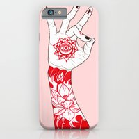 iPhone & iPod Case featuring Om by scoobtoobins