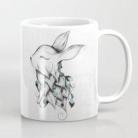 Poetic Rabbit Mug