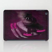 Bang Bang Gun Smoke  Pink Grunge Nails  iPad Case
