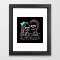 Lovely Bones Framed Art Print