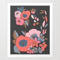 Dakota Flower Art Print