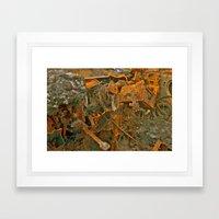 Burnout Framed Art Print