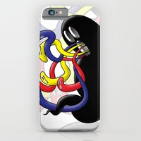iPhone & iPod Case featuring Gross Ghost Prime by FoolishGraphics