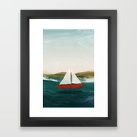 The Boat That Wants To F… Framed Art Print
