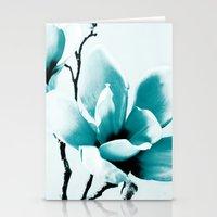 Mono Magnolia Stationery Cards
