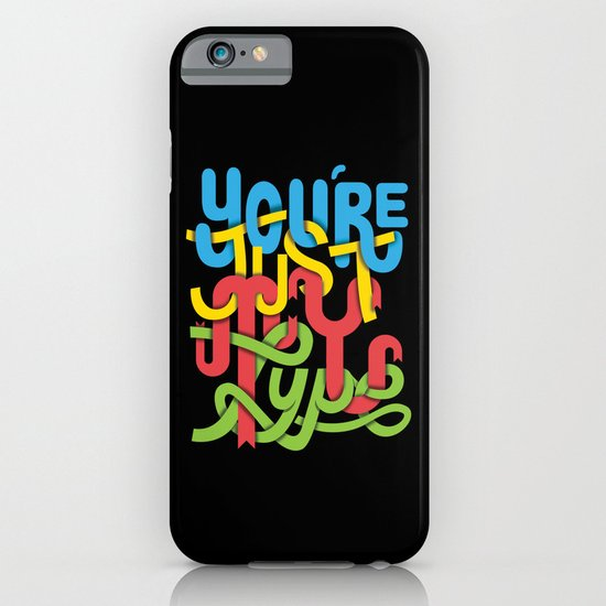 You're just my type iPhone & iPod Case