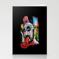 Killer Circus Stationery Cards
