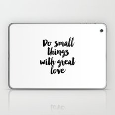 Inspirational Quote,Motivational Print,Office Decor,Life Quote,Positive Quote,Love Printable Laptop & iPad Skin