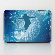 Snowboarder iPad Case