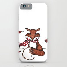 Holiday Fox iPhone 6 Slim Case
