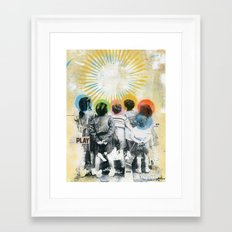PLAY Framed Art Print