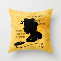 The First, Painful Stage of a Blessing Throw Pillow