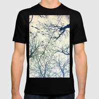 The Sky Above Mens Fitted Tee Black SMALL