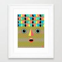 Waxxy Framed Art Print