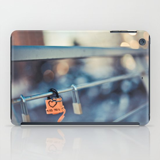 Miss You iPad Case