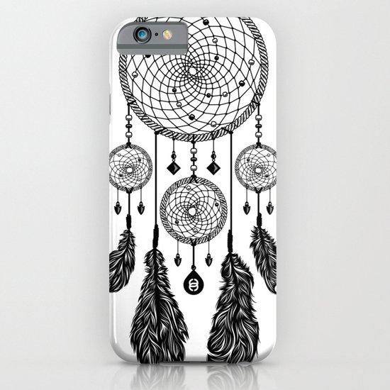 Dreamcatcher (Black & White) iPhone & iPod Case