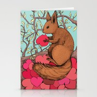 Time of The Season Stationery Cards