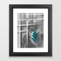 White Noise - Variant II… Framed Art Print