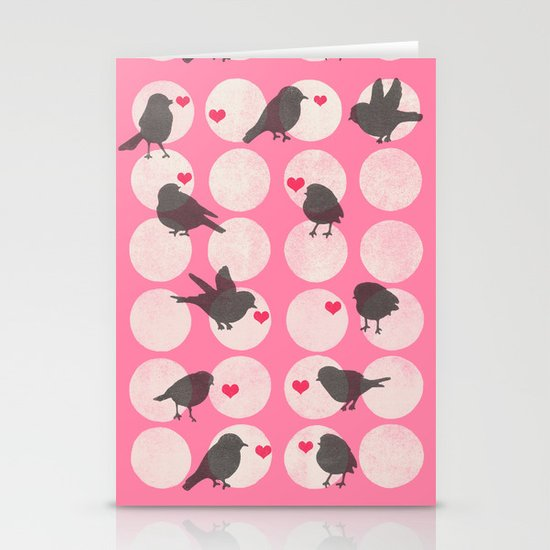 Birdsong Love Stationery Card