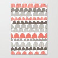 Shroom Coral Canvas Print