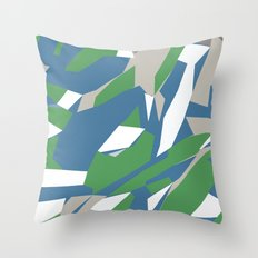 Hastings Zoom Green Throw Pillow