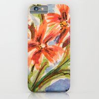 iPhone Cases featuring Brighten Your Day by Julie Lemons