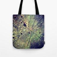 Nature Rings Tote Bag