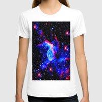 nebula T-shirts featuring Nebula  by Saundra Myles