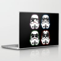 Laptop & iPad Skin featuring Kiss Troopers by Tom Ledin