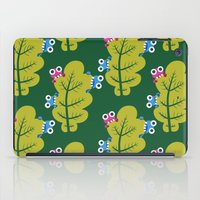 Bugs Eat Green Leaf iPad Case