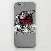 iPhone & iPod Case featuring Space Parasitism by pigboom el crapo